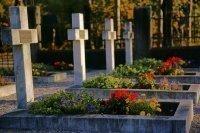 Gräber am Kosakenfriedhof