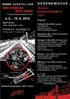 Sonder Ausstellung, Gedenkveranstaltungen Juni 2015